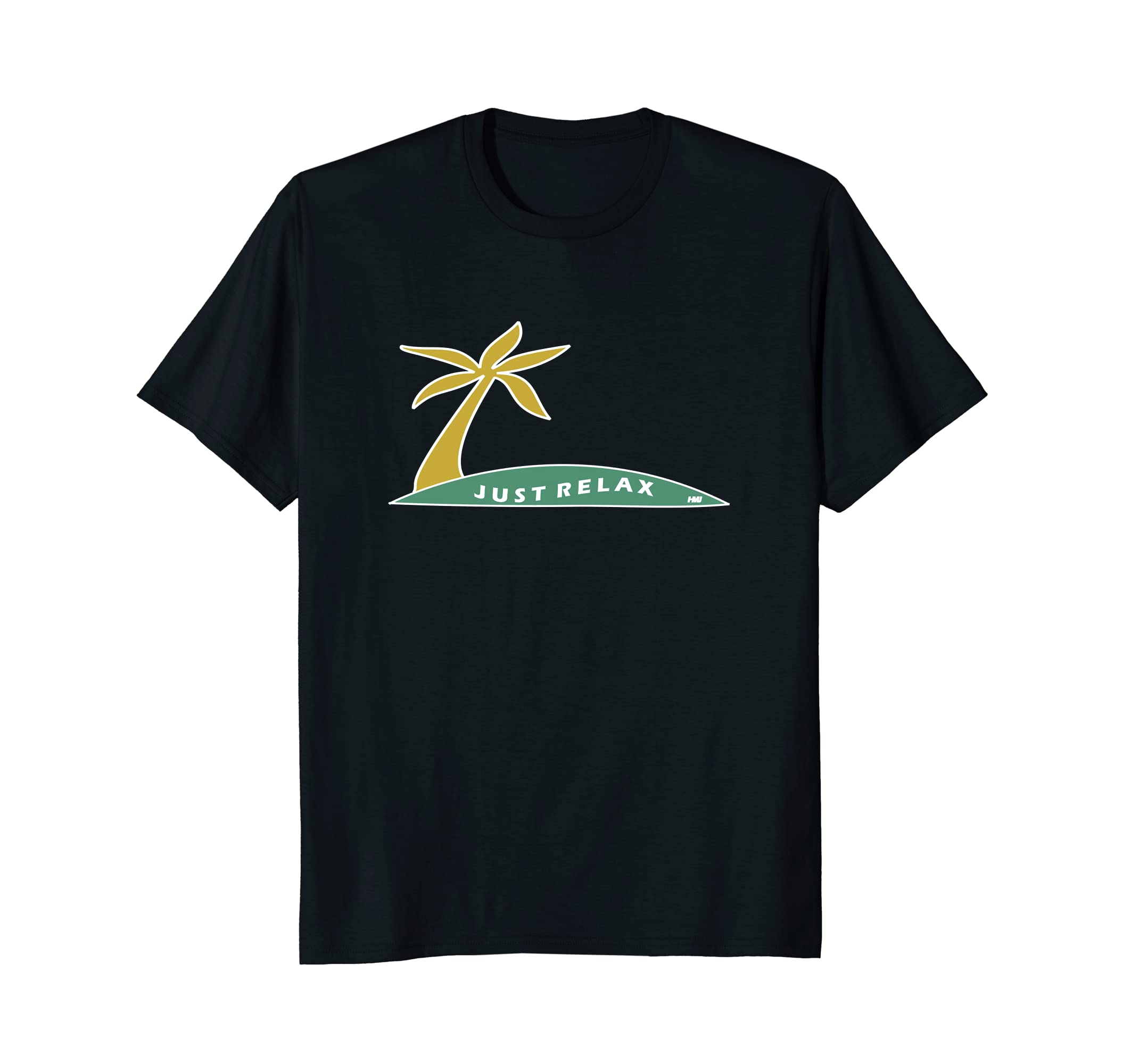 82f86d90488 JUST RELAX Inspiring Relaxing Summer Vibes Graphic Tee Shirt-alottee gift