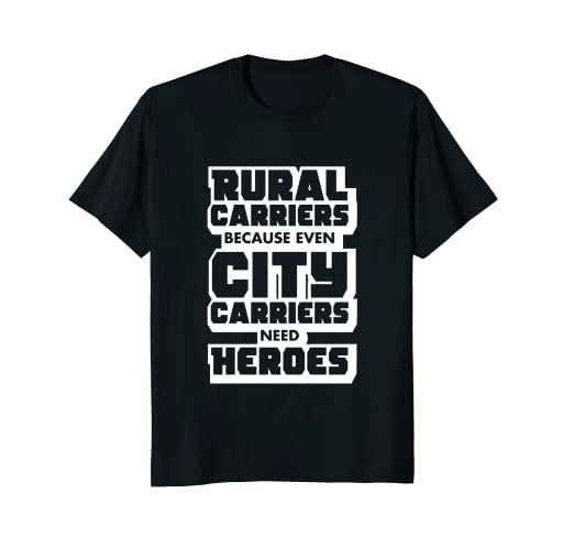 b4d80f506 Image Unavailable. Image not available for. Color: Rural Carriers Shirt,  Funny Postal Worker Postman T Shirts