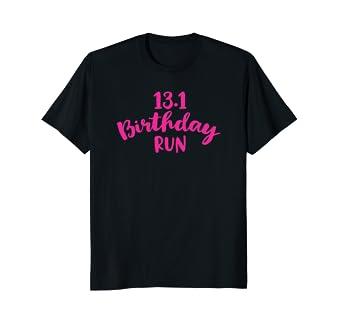 Amazon Half Marathon Birthday T Shirt Runner Gift Running