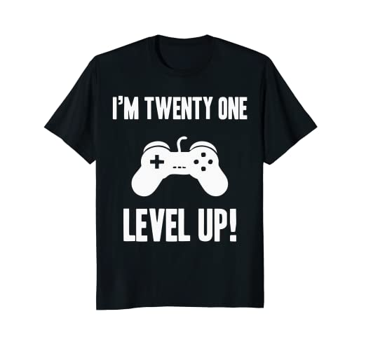 Video Game 21st Birthday Shirt