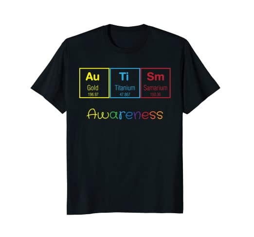 Amazon autism periodic table of science shirt autism awareness autism periodic table of science shirt autism awareness tee urtaz Gallery
