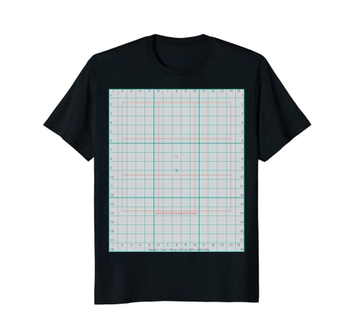 Amazon T Shirt Design Aid Grid And Color Chart Clothing