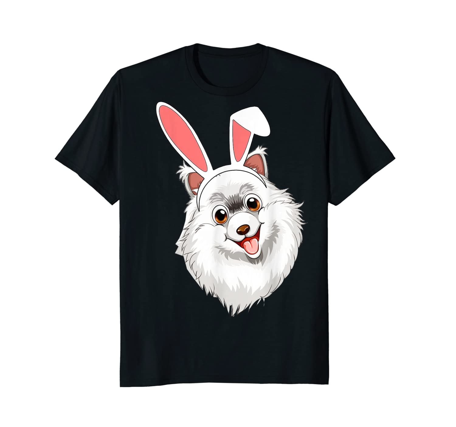 Cool Gift Samoyed Bunny Ears Happy Easter Tshirt Funny Easter Gifts Funny Women Tee Shirt