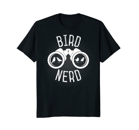 Birdwatching T-Shirt: Bird Nerd Shirt