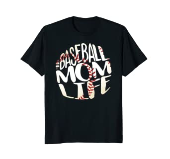 602beae0 Image Unavailable. Image not available for. Color: Baseball Mom Shirt ...