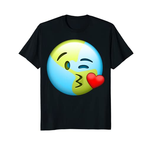 Amazon com: Kiss Lips Cute Earth Day Emoji Kids Emoticon
