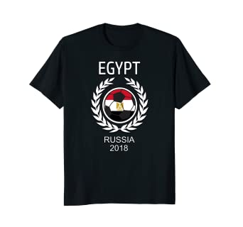 fd1021f5c Image Unavailable. Image not available for. Color: Egypt Egyptian Soccer  Team 2018 T Shirt ...