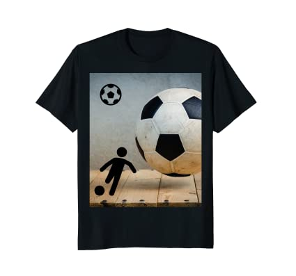 Worn Soccer Ball and futbol player action icon kicking