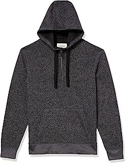 Bonds Mens Basic Fleece Zip Up Hoodie Jacket Jumper size Small Colour Black