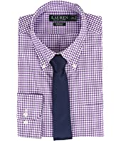 LAUREN Ralph Lauren - Classic Button Down with Pocket Dress Shirt