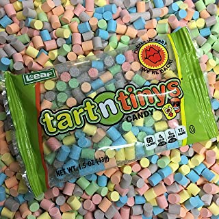 Classic Tart n' Tinys Candy - 12 COUNT 1.5oz Packs - Fresh Tart and Tiny Candy!
