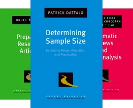 Pocket Guides to Social Work Research Methods (41 Book Series)
