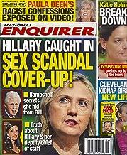Hillary Clinton, Katie Holmes, Amanda Berry, Paula Deen, Toni Tenille - July 1, 2013 National Enquirer Magazine