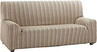 comprar comparacion Martina Home Mejico - Funda de sofá elástica, Beige, 2 Plazas, 120 a 190 cm de ancho