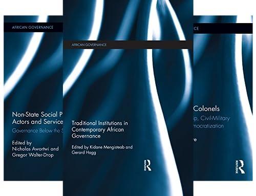 African Governance (21 Book Series)