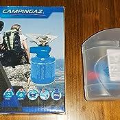 Campingaz Twister Plus PZ, hornillo de gas para camping o festivales, fácil manejo