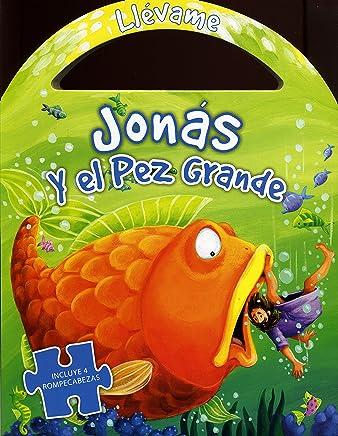 Niños - Jonas y el pez grande (libro de rompecabezas) (Spanish Edition)