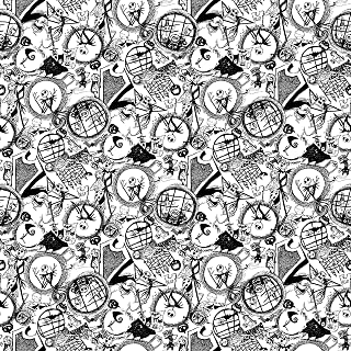Nightmare Before Christmas Fabric World of NBC Tossed Fabric by the Yard