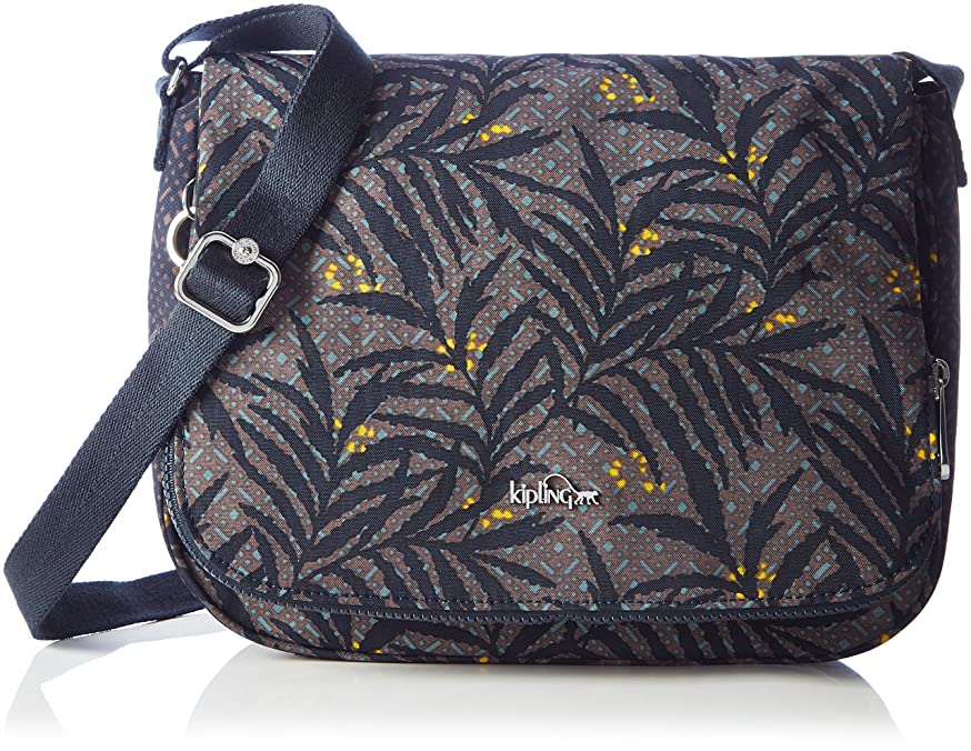 オピエート租界ウォーターフロント(Multicolour (Tropic Bloom Bl)) - Kipling Women's Earthbeat M Cross-body Bag