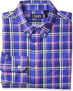 CHAPS 750655016-27DB Camisa Casual para Hombre