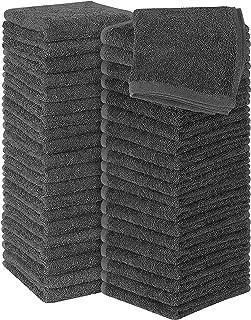 Utopia Towels - Lot de 60 Petites Serviettes, débarbouillettes - 30 x 30 cm (Gris)
