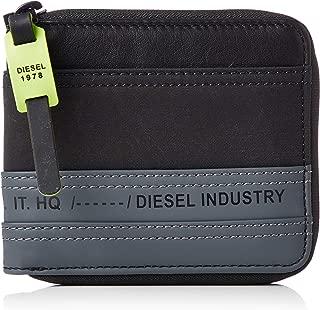 (ディーゼル) DIESEL メンズ ウォレット ミックスマテリアル 二つ折り 財布 X06478P2677