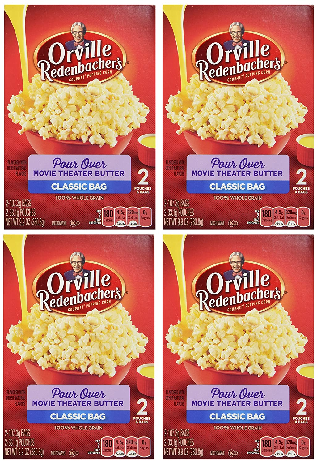 Orville Redenbacher Pour Over Movie Butter Max 79% OFF Max 83% OFF Popcorn 9.9 Theater