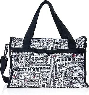 Bolsa Mickey, Disney, Dtvb01Mk1D, Preto/Branco