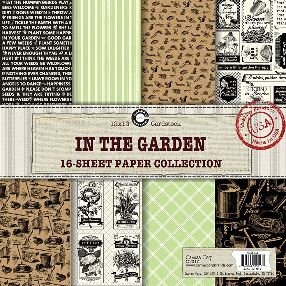 Canvas Corp in The in The Garden Paper Collection