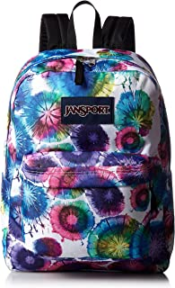 Jansport Superbreak Backpack Multi Tie Dye Swirls