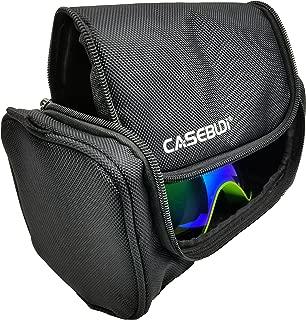 CASEBUDi Ski and Snowboard Goggle Case | Tough Ballistic Nylon Fabric
