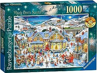 Ravensburger Which One'S Santa? Puzzle de 1000 Piezas, edición Limitada 2017
