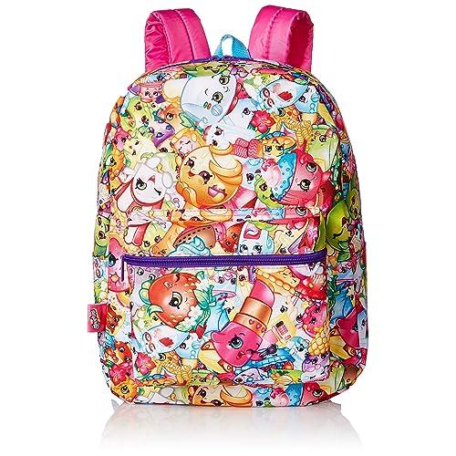 Shopkins Little Girls Print Backpack 368b6043ec216