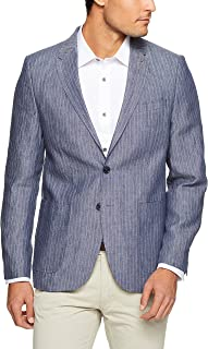 Oxford Men Larkin Linen Stripe Blazer