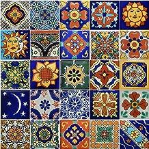 Color y Tradicion 25 Hand Painted Decorative Talavera Mexican Tiles 2