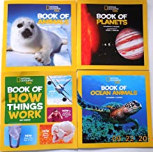 National Geographic Kids Book of Animals, Planets, Ocean Animals and How Things Work