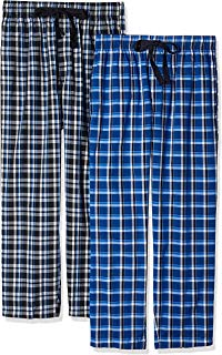 Fruit of the Loom Men's 2-Pack Woven Pajama Pant Set