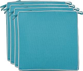 Brandsseller Coussins décoratifs d'extérieur - Résistant à la saleté et à l'eau - Garnissage : 220 g - Dimensions : 40 x 4...
