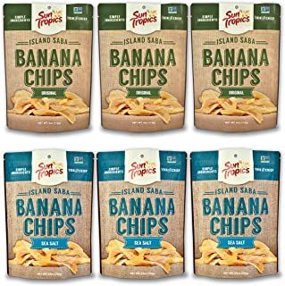 garlic banana chips
