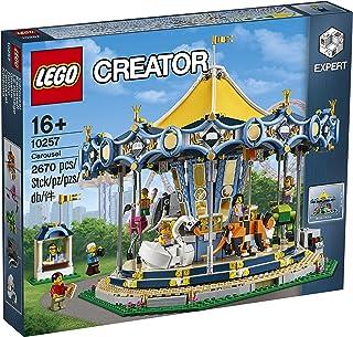 LEGO Creator Expert-Tiovivo, juguete de construcción de atracción