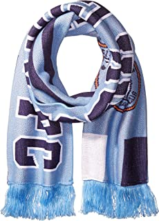 jacquard stripe scarf
