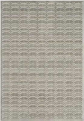 Safavieh Paradise Collection PAR956B Art Deco Viscose Area Rug, 8' x 10', Silver