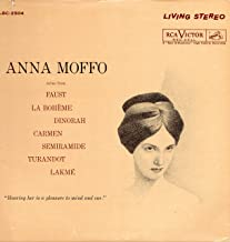 Anna Moffo: Arias From Faust, La Boheme, Dinorah, Carmen, Semiramide, Turnadot, Lakme (Living Stereo)
