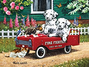 product image for Fireman Friends 300 pc Jigsaw Puzzle by SUNSOUT INC
