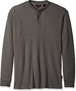 Wolverine Men's Big-Tall Walden Long Sleeve Blended Thermal 3 Button Henley Shirt