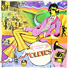 a collection of beatles oldies vinyl
