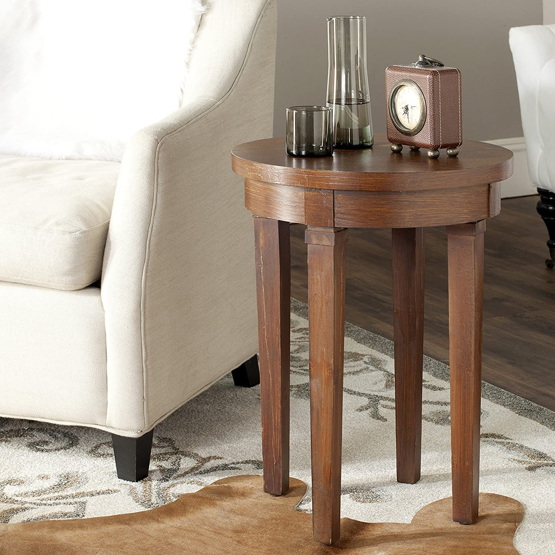 Safavieh American Home Collection Kipp Brown End Table