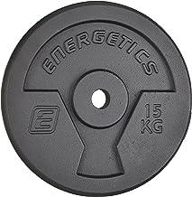 ENERGETICS Halterschijven gietijzer 1 x 10 kg, 1 x 15 kg of 1 x 20 kg.