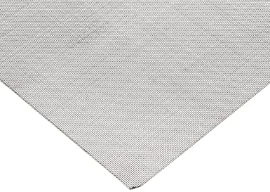 42 Width 43/% Open Area 132 microns Mesh Size Nylon 6//6 Woven Mesh Sheet Opaque Off-White 10 yards Length