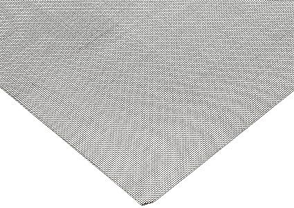 37 microns Mesh Size 24/% Open Area 12 Width Nylon 6//6 Woven Mesh Sheet 12 Length Opaque Off-White